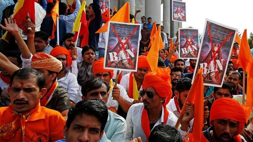 demonstrators-bollywood-padmavati-bengaluru-upcoming-protest-against_6db2d2e2-cdd2-11e7-ab73-d03b3a59d103